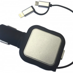 Incarcator telefon la priza tip bricheta compatibil cu iPhone 6 7, iPad, iPod, Samsung, HTC, alimentare priza 12V/ 24V - Incarcator telefon Motorola, De priza