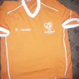 Tricou al Echipei de Fotbal a Olandei la Camp. Europene UEFA-Euro 2004, nr.9 - Tricou echipa fotbal, Marime: XL, Culoare: Orange