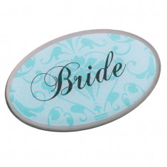 Bride Pin - Oval Aqua - Patch Panel