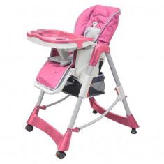 Scaun de masă pentru bebeluși Roz - Scaun masaj