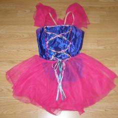 Costum carnaval serbare rochie dans balet pentru copii de 8-9 ani - Costum dans, Marime: Masura unica, Culoare: Din imagine