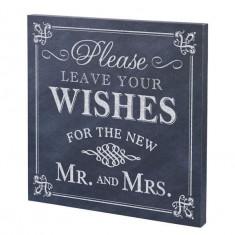 Lăsați Dorinte dvs. Sign prelata de nunta - Carte Pediatrie