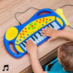 Tastatură Electronică cu Microfon pentru Copii - Tastatura tableta