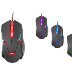 Mouse Tracer Battle Heroes Kintaro TRAMYS44918, 2400 dpi, USB, Negru, Optica