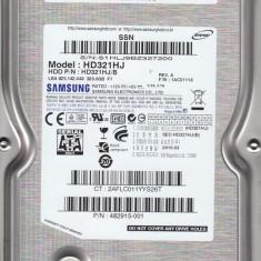 Hard disk Samsung 320GB, HD321HJ, 100%OK, fara bad-uri, cablu de date+garantie!, 200-499 GB, Rotatii: 7200, SATA2, 8 MB