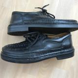 Pantofi din piele pentru barbati, marca Original Enrico Mori 41, 5 - Pantofi barbat Adidas, Marime: 40, Culoare: Maro, Piele naturala