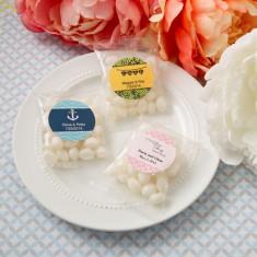 Fasole expresii personalizate Colectia alb jeleu în aromă de fructe Cherry