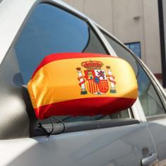 Huse oglinzi steagul Spaniei (2buc) - Sticker Telefon