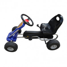 Kart pentru copii albastru 89 x 52 x 51 cm - Kart cu pedale