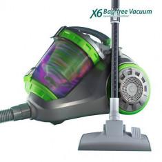 Aspirator X6 fără saci - Aspirator cu Filtrare prin Apa