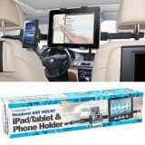 Suport dublu pentru telefon si tableta Ipad cu fixare la tetiere, Streetwize