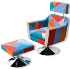 Fotoliu cu design patchwork - Fotoliu living