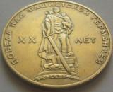 Moneda comemorativa 1 Rubla Lenin - URSS,  20 ani!  *cod 4873