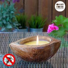 Lumânare de Lămâiță Coconut Oh My Home - Lumanare parfumata