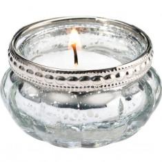 Set de 4 Silver tealight Cupe - Masina de spalat vase