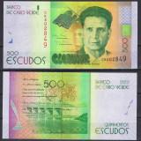 !!! CAPUL VERDE - 500 ESCUDOS 2014 - P 72 - UNC - bancnota africa