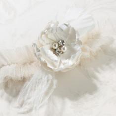 Chic & Shabby Jartierei-Cream - Oglinda living