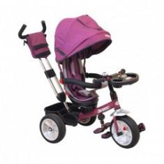 Tricicleta copii 3-5Ani cu Scaun Reversibil Baby Mix Solaris