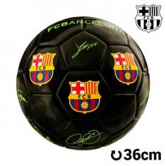 Minge de Fotbal Mini Neagră F.C. Barcelona - Poarta Fotbal