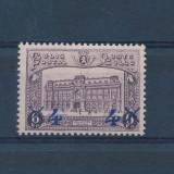 Belgia 1933 90 Euro gara din Bruxelles supratipar - serie nestampilata MH