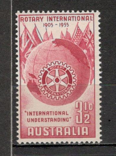 Australia. 1955 50 ani Rotary International   KY.30 foto mare