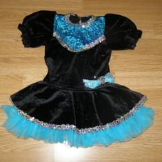 Costum carnaval serbare rochie dans gimnastica pentru copii de 4-5-6 ani - Costum dans, Marime: Masura unica, Culoare: Din imagine