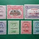 Belgia 1920 130 Euro supratipar Eupen-Malmedy - serie nestampilata MH