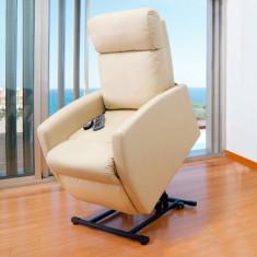 Fotoliu Relax cu Funcție de Ridicare și de Masaj Craftenwood Compact 6007 - Fotoliu living