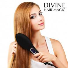 Perie Electrică de Îndreptat Părul Brushture - Masina de spalat cu presiune