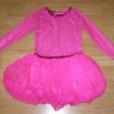 Costum carnaval serbare dans balet gimnastica pentru copii de 10-11-12 ani - Costum dans, Marime: Masura unica, Culoare: Din imagine