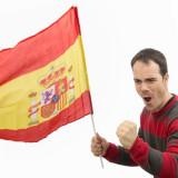 Steagul Spaniei 60 x 90 cm - Piercing buric