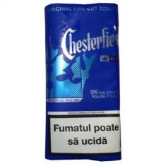Tutun Chesterfield Blue 35 g pentru foite rulat sau tuburi injectat - Tutun Pentru tigari de foi
