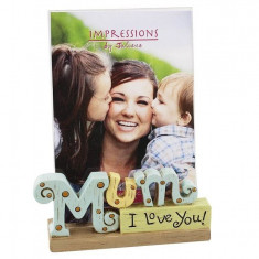 Juliana Resin Inscripția Photo Frame 'mama' 4