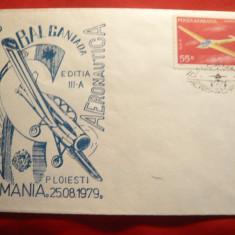 Plic special Aero - Balcaniada Aeronautica Ed.IIa Ploiesti 1979