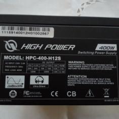 Sursa calculator Sirtec High Power Element 400W + cablu de alimentare - Sursa PC