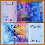 !!! CAPUL VERDE - 1.000 ESCUDOS 2014 - P 73 - UNC - bancnota africa