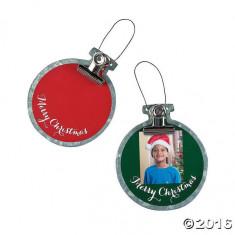 12 x Photo Ornamente cu clip