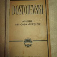 Amintiri din casa mortilor -Dostoievski - Nuvela