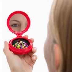 Oglindă pentru Geantă cu Perie Integrată Colors - Senzor de Parcare