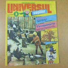 Universul copiilor 2 / 1990 banda desenata Daniela Marian si catelul nazdravan - Reviste benzi desenate