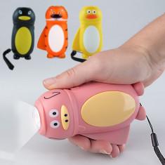 Lanternă LED pentru Copii cu Dinam