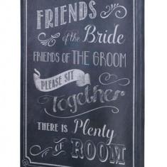 Ceremonia de nuntă Scaune Sign - Invitatii nunta