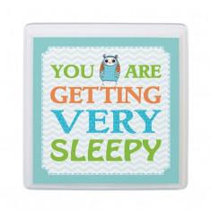 Albastru Owl somnoros pepinieră Conectați-vă