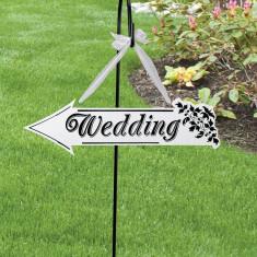 De nunta Arrow Sign - Invitatii nunta