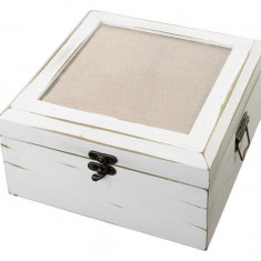 Antic alb Card Box - Blank - Inel diamant