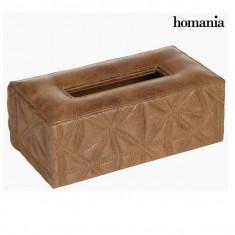 Cutie din țesărură gravată maro by Homania - Aparat Foto compact Samsung