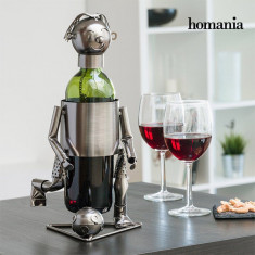 Suport Metalic de Sticle Fotbalist Homania - Suport sticla vin