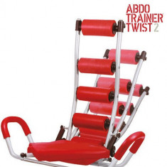 Aparat pentru Exerciții ABDO Trainer Twist cu Extensoare - Aparat multifunctionale fitness