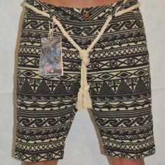 Bermude barbati Londsdale Pantaloni scurti blugi subtiri model inedit, Marime: 30, 36, Culoare: Negru, Bumbac
