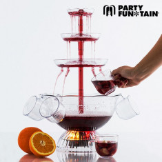 Fântână de Cocktail Iluminată Party Fun Tain - Aparat Desert